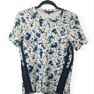 French Connection Strech Top T shirt Floral S